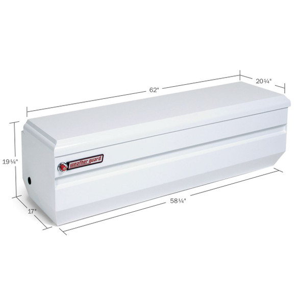 Weather Guard Model 665-X-01 All-Purpose Chest, Steel, Full, 13.1 cu ft