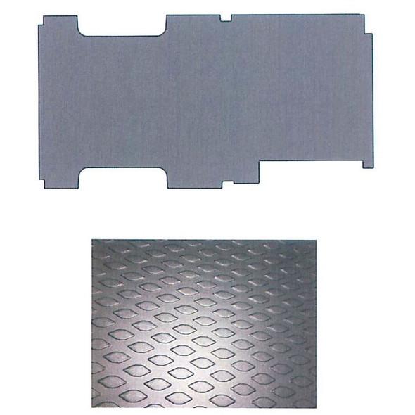 """Adrian Steel #88-148FT Workmat, 132.3w x 0.2h x 68.7d, Black, Transit, 148"""""""