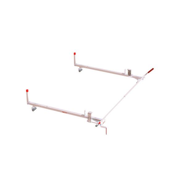 Weather Guard Model 236-3-03 Quick Clamp Rack, Passenger Side, Aluminum, Full Size, 70 in