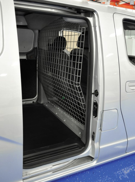 Adrian Steel #P2NV2FW Wire Partition , Gray / Fits Nissan NV200 & Chevy City Express