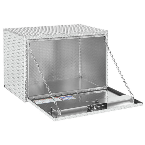 Weather Guard Model 638-0-02 Underbed Box, Aluminum, Jumbo, 12.2 cu ft