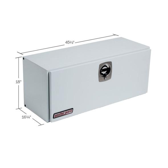 Weather Guard Model 247-3-02 Super-Side Box, Steel, 7.7 cu ft