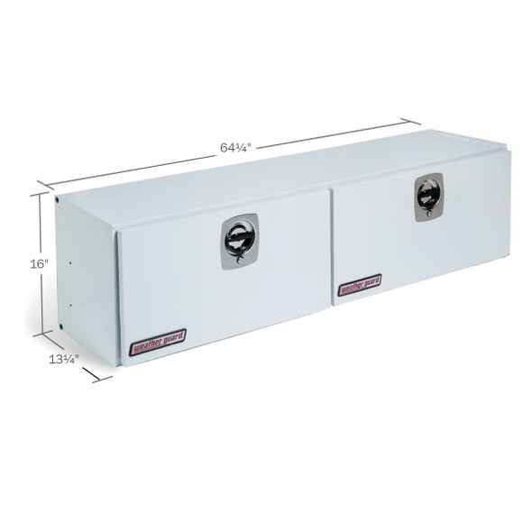 WeatherGuard Model 264-3-02 Hi-Side Box, Steel, 7.9 cu ft