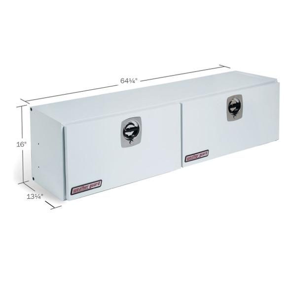 Weather Guard Model 264-3-02 Hi-Side Box, Steel, 7.9 cu ft