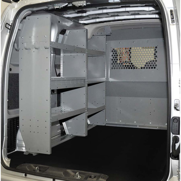 Adrian Steel #4967 - Triple Shelf Starter Package, Gray, City Express, NV200