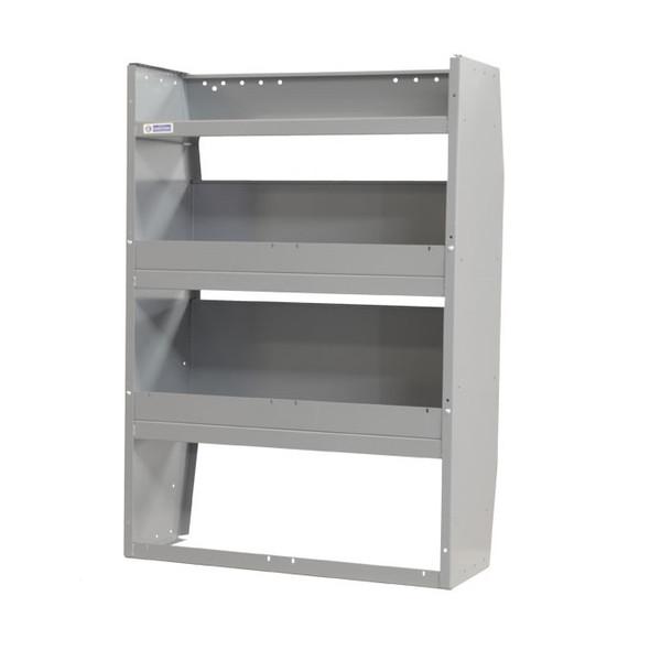 Adrian Steel #4432 Welded 3-Shelf Unit, Gray