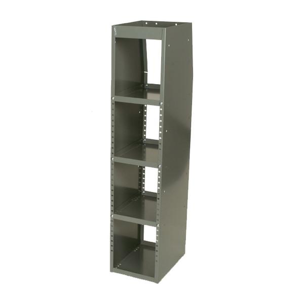 Adrian Steel #33W Welded 4-Shelf Unit, 10w x 46h x 14d, Gray