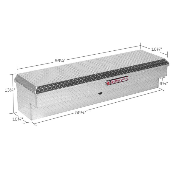 WeatherGuard Model 174-X-01 Lo-Side Box, Aluminum, Standard, 4.1 cu ft