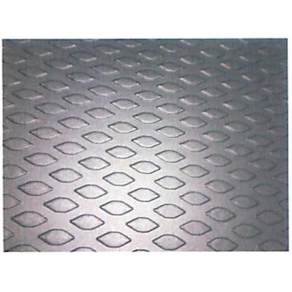 "Adrian Steel #89-PM136 Composite Floor, 119.8w x 0.5h x 73d, Black, ProMaster, 136"""