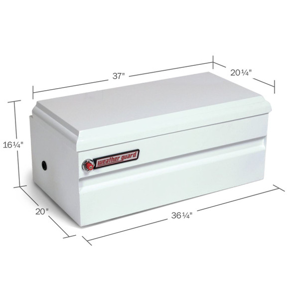 Weather Guard Model 645-3-01 All-Purpose Chest, Steel, Compact, 6.0 cu ft