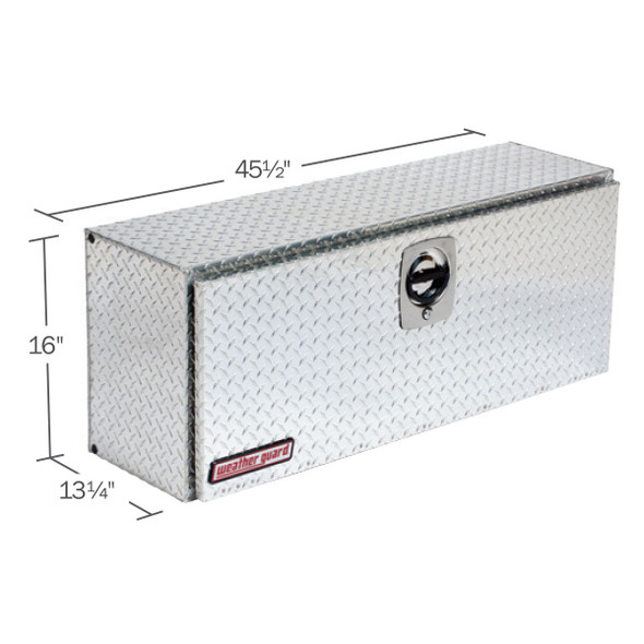 WeatherGuard Model 346-X-02 Hi-Side Box, Aluminum, 11.8 cu ft