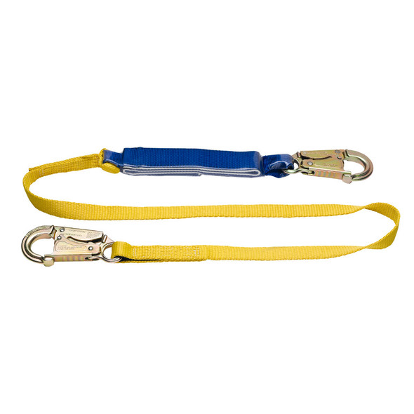 "Werner Fall Protection ""DeCoil"" Web Lanyard"