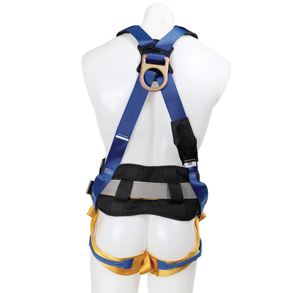 Werner H33210X Litefit Construction (Back And Hip D-Rings) Harness, Tongue Buckle Legs