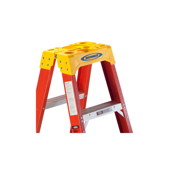 Werner T6200 Series Twin Sided Stepladder | 300 lb Rated