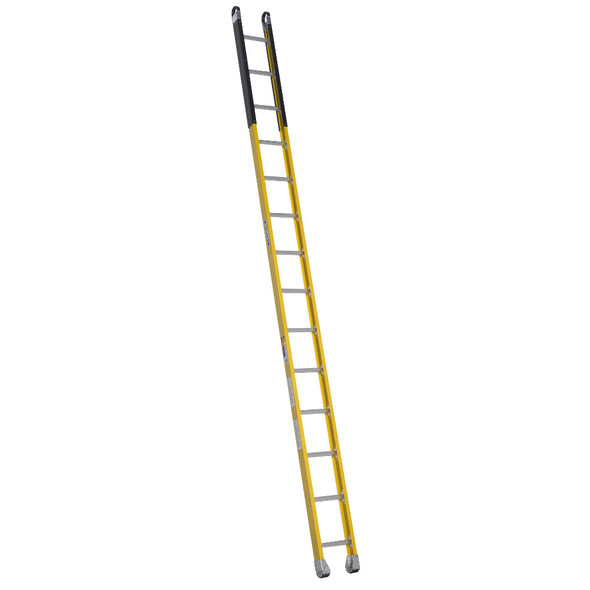 Werner M7100-1 Series Fiberglass Manhole Ladder 375 lb Rated