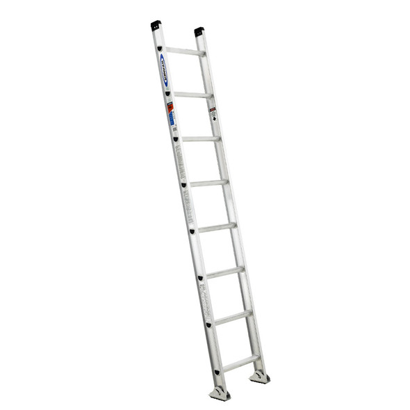Werner D1500-1 Series Aluminum Single Straight Ladder | 300 lb. Rated