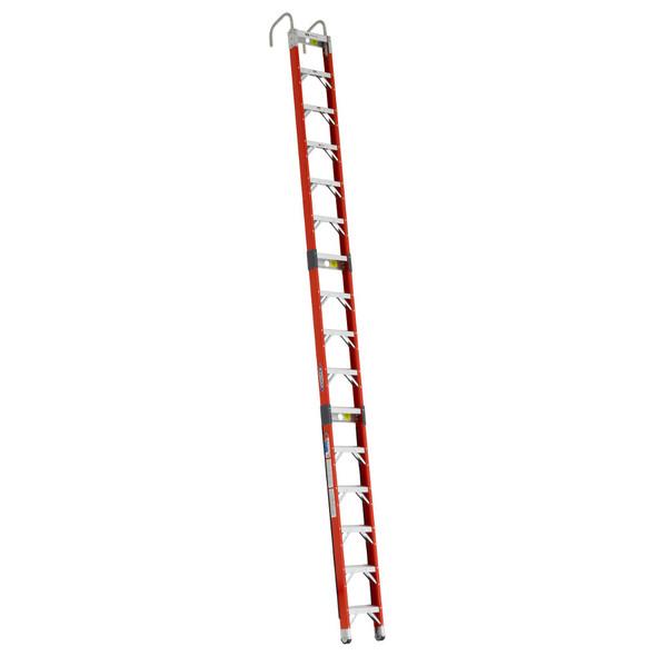 Werner SPF Series Fiberglass Straight Posting Ladder 300 lb Rated