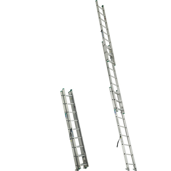 Werner D1200-3 Series 3-Section Extension Ladders 225 lb Rating