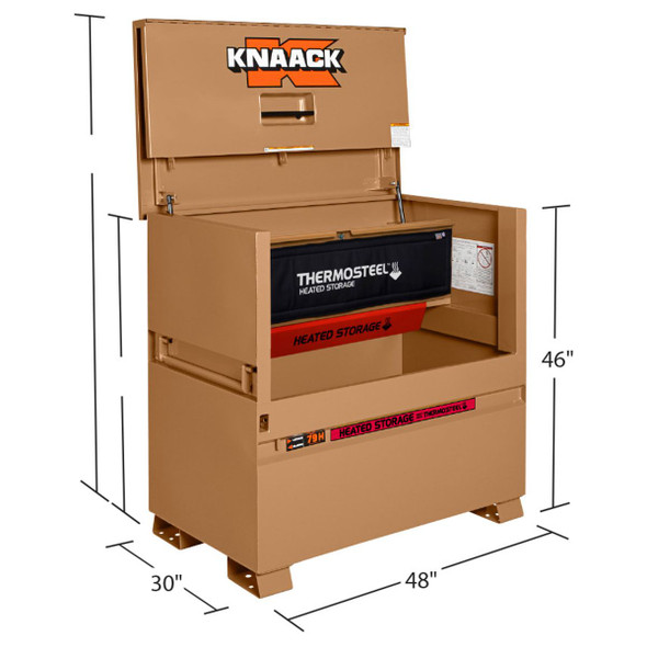 Knaack Model 79-H STORAGEMASTER Chest / THERMOSTEEL Heated Storage