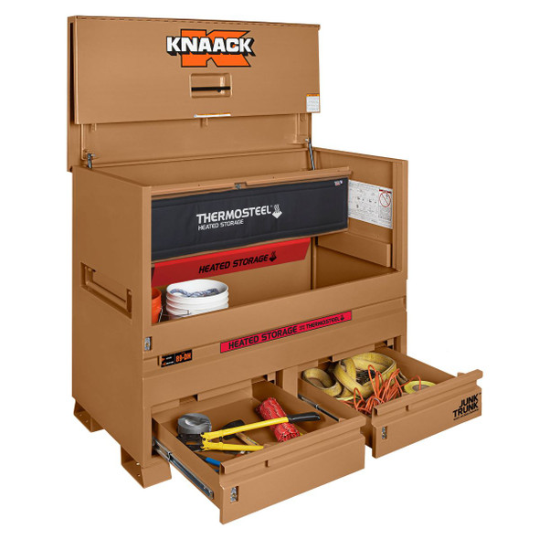 Knaack Model 89-DH STORAGEMASTER Chest / JUNK TRUNK THERMOSTEEL Heated Storage