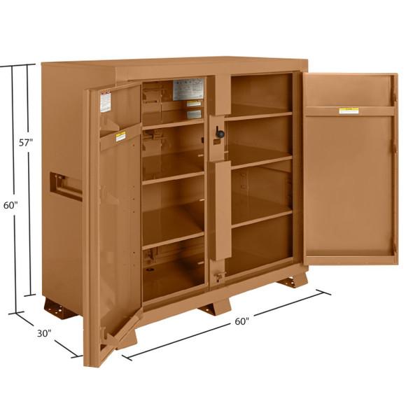 "Knaack Model 99 JOBMASTER Cabinet, 60"" x 30"" x 60"""
