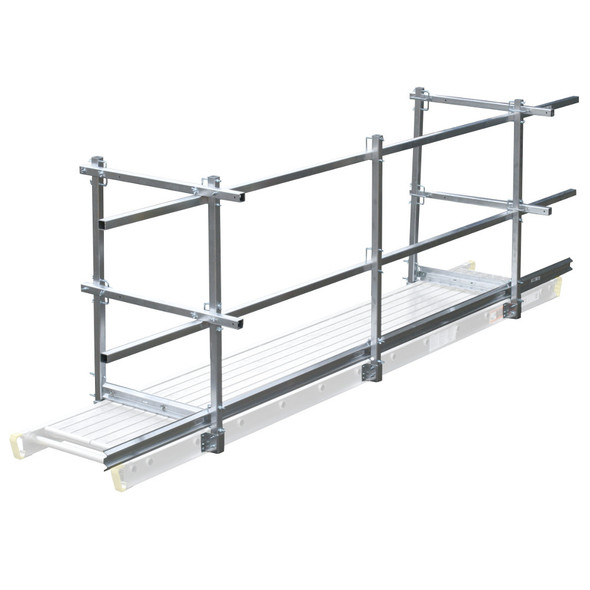 Werner Aluminum Nestable Stage 2-Man Rated