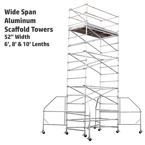 Werner Wide Span Aluminum Scaffold Towers