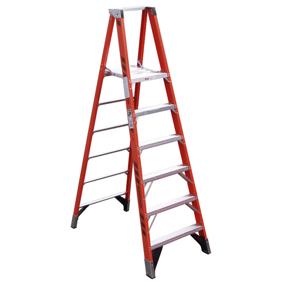 Werner P7400 Series Platform Ladder 375 lb Rated