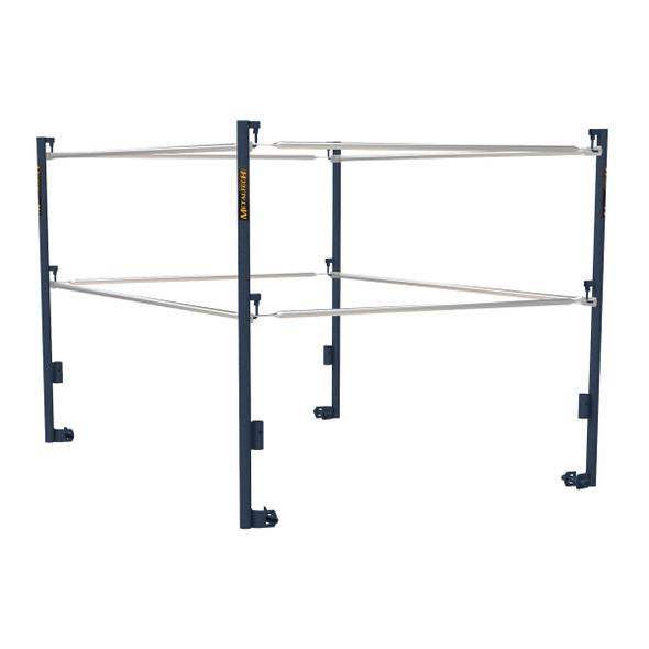MetalTech Exterior Steel Scaffold - Guard Rails