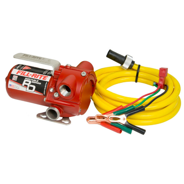 Fill-Rite RD812BN - Rotary Vane: 12 Volt DC Portable Pump Only