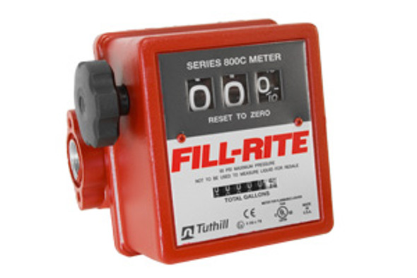 "Fill-Rite 807C / 3-Wheel Mechanical, 3/4"" Meter, 5 - 20 GPM"