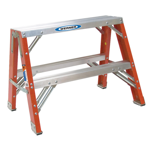 Werner TW6200 Series Fiberglass Portable Work Stand | 300 lb Rating