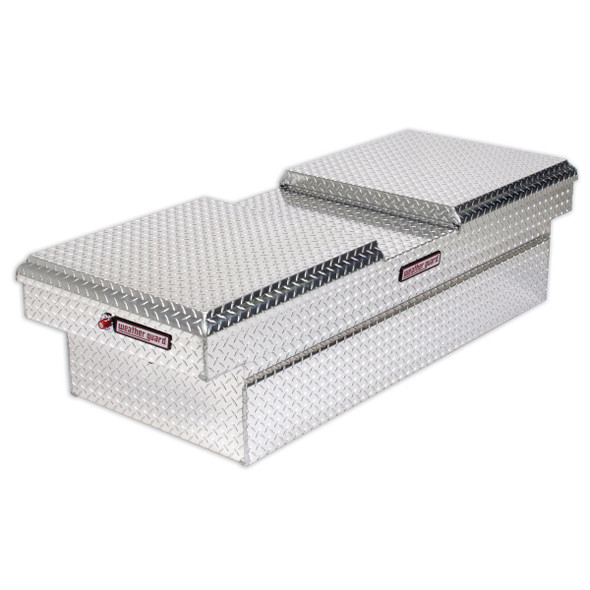 Weather Guard Model 114-X-01 Cross Box, Aluminum, Full Extra Wide, 15.3 cu ft