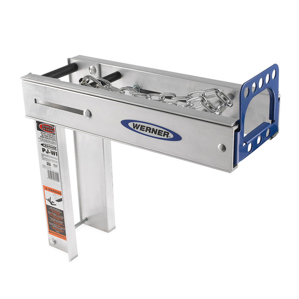 Werner PJ-WB Aluminum Pump-Jack Work Bench Holder / 2 or more required to hold additional stages as workbench