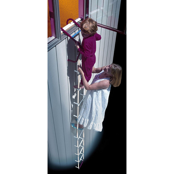 ResQLadder Fire Escape Ladders with Sleeves