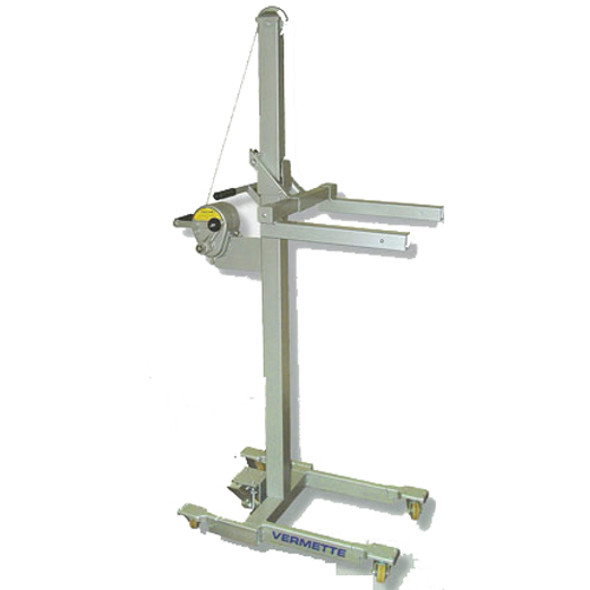 """Vermette Model Adjust-A-Lift Capacity 400 lbs includes 3"""" Non-marking Casters"""