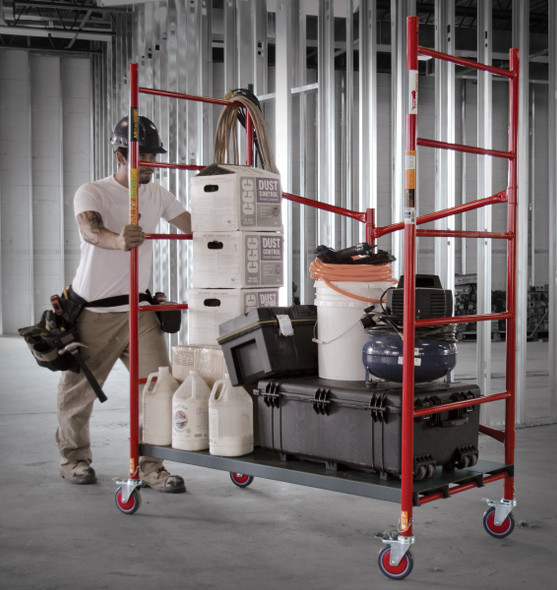 "MetalTech Model I-BM6S Buildman 6' High Portable Scaffold ""750 lb Capacity"""