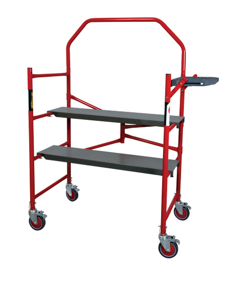 "MetalTech Model I-BM4S Buildman 4' High Portable Scaffold ""750 lb Capacity"""