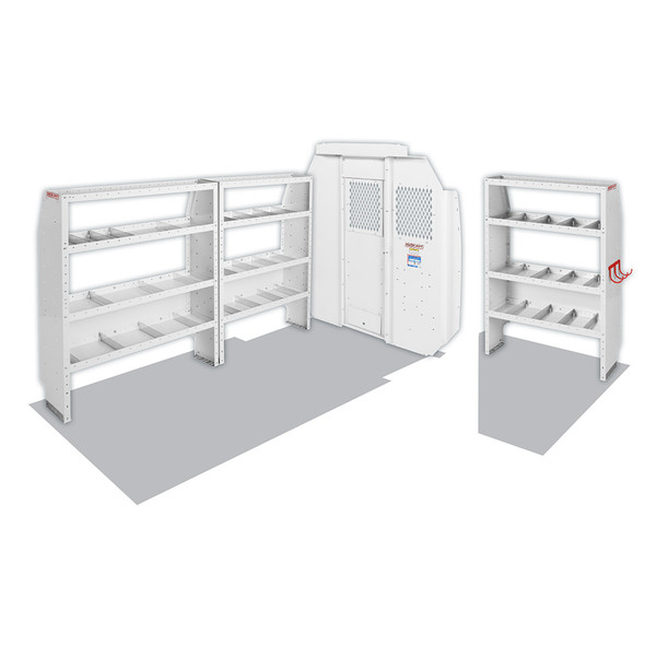 "WeatherGuard Model 600-8440S Commercial Shelving Van Package, Mid-Roof, 118"" WB, RAM ProMaster"