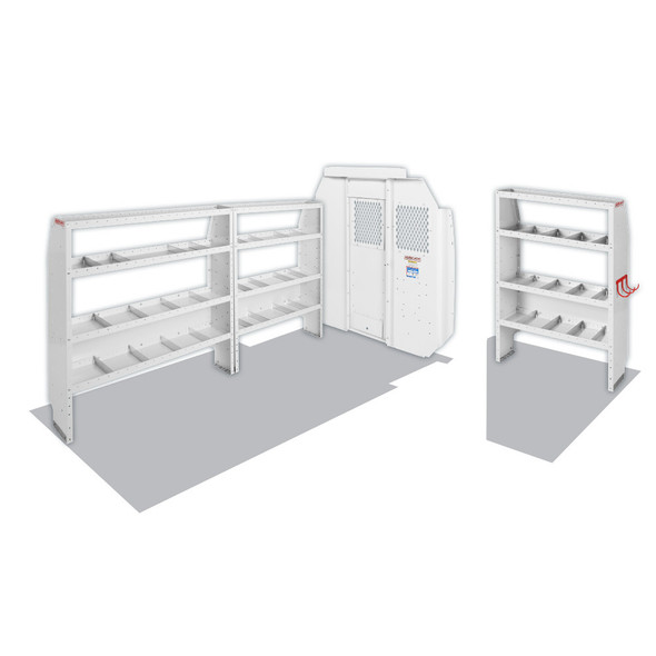 """Weather Guard Model 600-8440R Commercial Shelving Van Package, Mid/High-Roof, 136"""" WB, RAM ProMaster"""