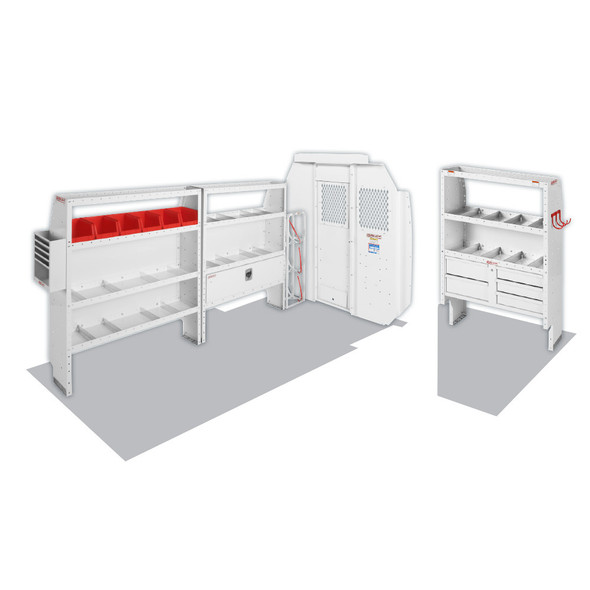 """Weather Guard Model 600-8443R HVAC/Mechanical Van Package, Mid/High-Roof, 136"""" WB, RAM ProMaster"""