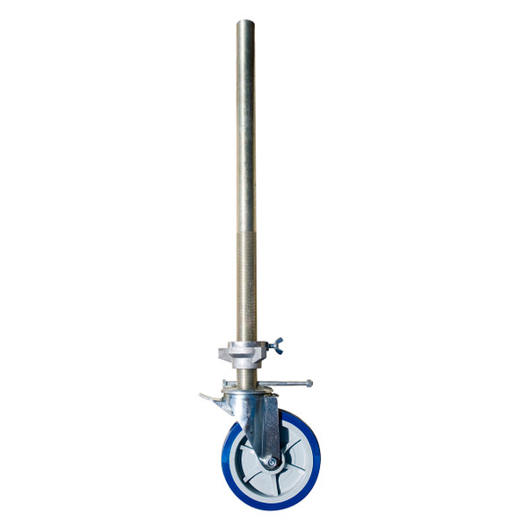 MetalTech Fiberglass Scaffold - Leveling Jack with Caster