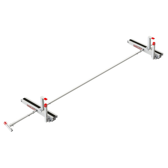 Weather Guard Model 2265-3-01 EZGLIDE2 Fixed Drop-down Ladder Kit, Compact