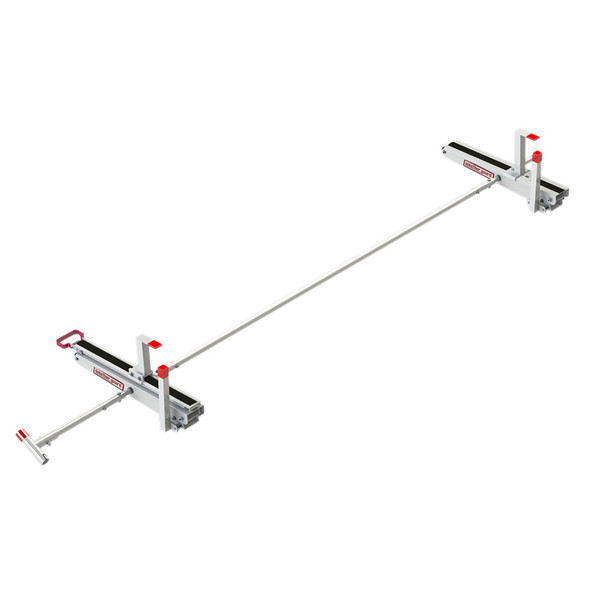 Weather Guard Model 2295-3-01 EZGLIDE2 Drop-down Ladder Kit, Extended, Mid/High-Roof