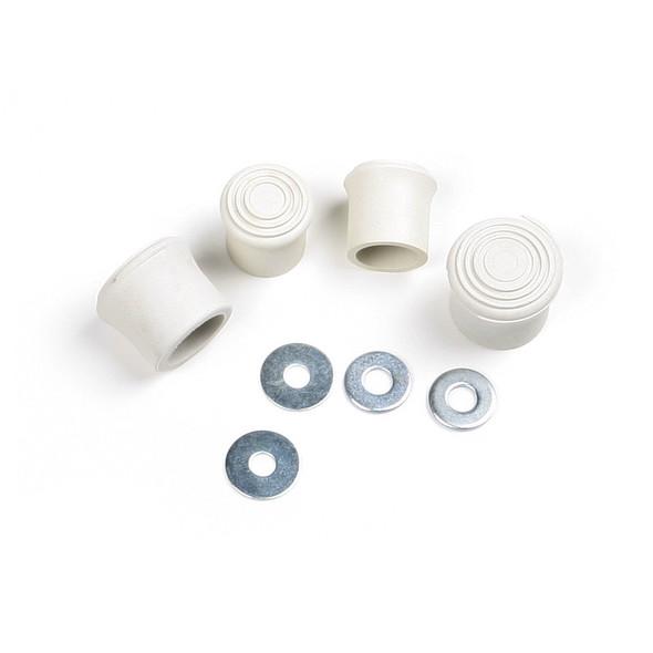 Werner Parts 21-2 Foot Assembly Kit | VINYL FEET/TIP KIT