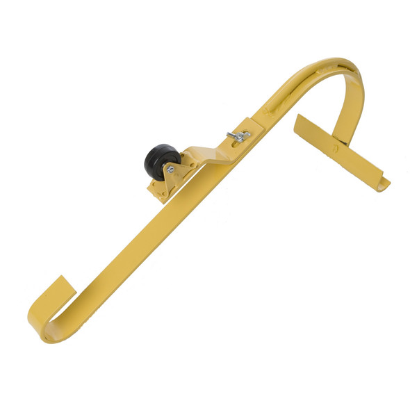 Acro 11084 Heavy Duty Roof Ridge Ladder Hook with fixed Wheel & Swivel Bar