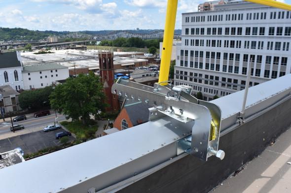 TranzSporter 70736 Zip Rail Compression Bracket Fall Protection System