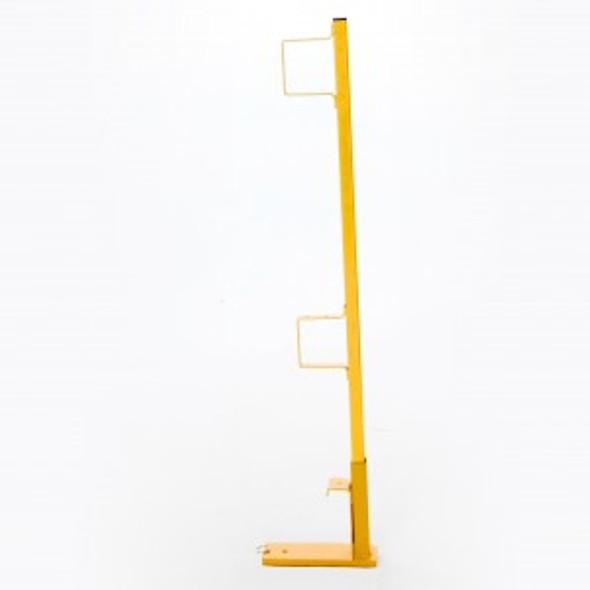 Acro 12056 Steel Wall Scaffold Guardrail Post w/Holder For Bracket
