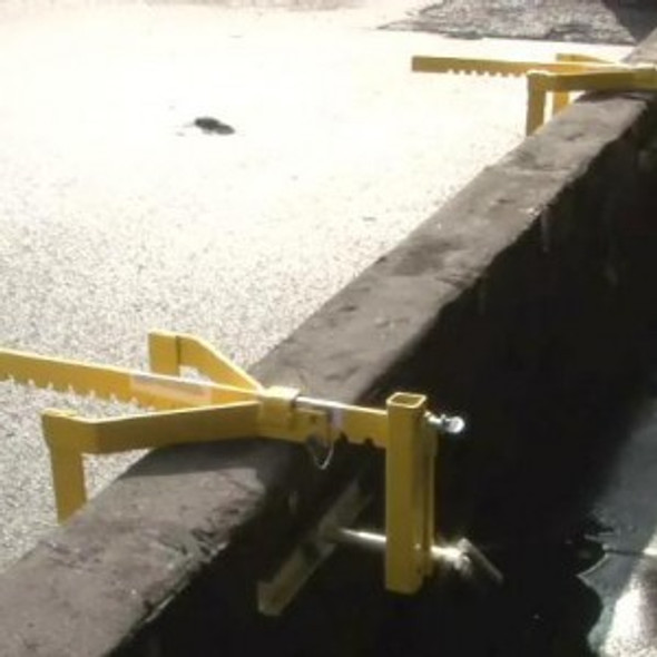 Acro 12089 Parapet Wall Guardrail Bracket only