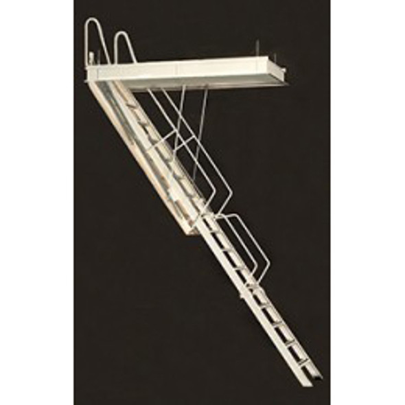 Rainbow G-Series Steel Attic Ladders | 10 Foot Heights | Commercial Rated